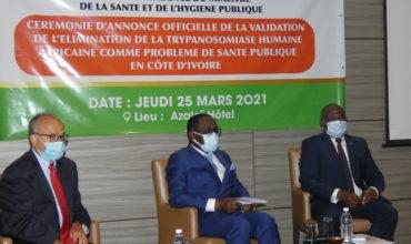 ELIMINATION DE LA TRYPANOSOMIASE HUMAINE AFRICAINE (THA ou maladie du sommeil) EN COTE D'IVOIRE